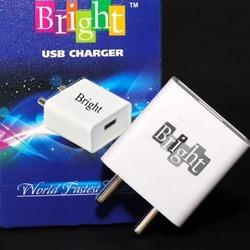 Bright 1.5 Amp Single USB Charger