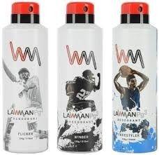 deodrant lawman pg3 deos mrp 199 200 ml deodorant spray at rs 87