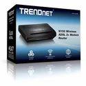 Trendnet N150 Wireless Adsl 2  Modem Router