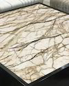 Vtc Printed Pvc Marble Sheet, For Commercial, Thickness: 3.6 Mm