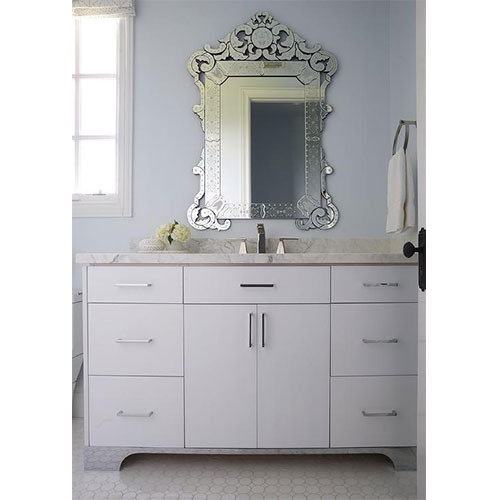 Bathroom Venetian Mirror वन स न