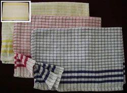 Check Multicolor Cotton Dish Towel, Wash Type: Hand Wash