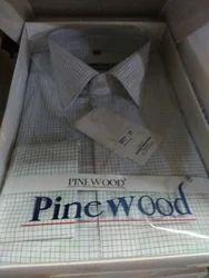Cotton Printed Check Shirt