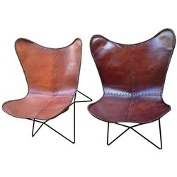 Leather Foldable Chair