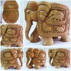 Wooden Elephant Handicraft