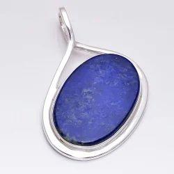 Lapis Lazuli 925 Sterling Silver Pendant