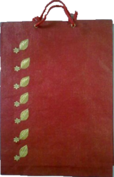 Handmade Sheets gift bag Handle Gift Bags, Bag Size: 8*10*3 Inches