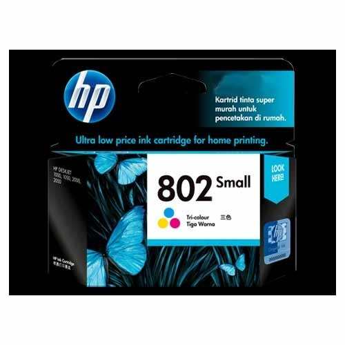 ch561zz hp 802 small ink cartridge rs 425 piece charan infotech
