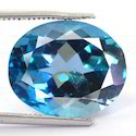 12.55 Carats London Blue Topaz