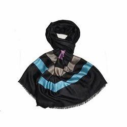 Silk Pashmina Yarn Dyed Stole