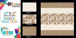 Print Wall Tile, Size: Medium, 8 - 10 mm