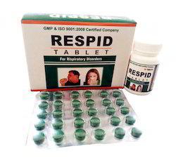 Respid Tablet, Packaging Type: Bottle & Strip