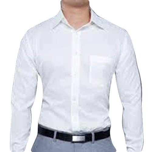 Men's Formal White Shirt at Rs 250 /piece(s)