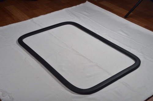 Western Polyrub Rectangular Silicone Gasket, Thickness: 1 To 5 Mm, for Industrial