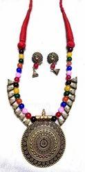 Oxidise Silver Necklace