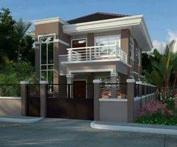 Bungalow Construction With Interior Design