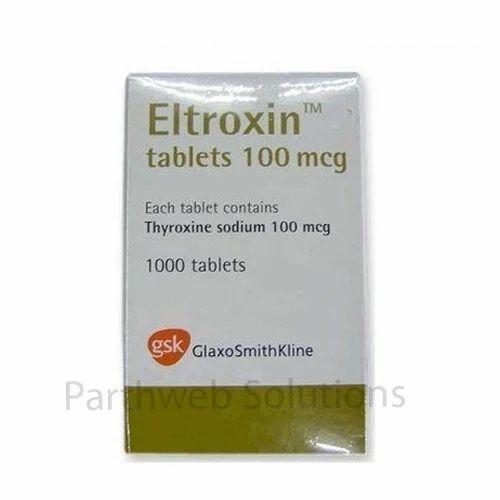 Eltroxin Thyroxine Sodium Tablets थ यर क स न
