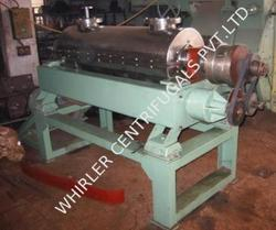 WHIRLER Model 35D Tallow Decanter Centrifuge, Capacity: About 5000 LPM