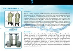 Softener Plant & DM Plant