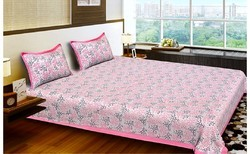 Jaipuri Print Cotton Bed Sheet