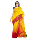 Handpainted Saree
