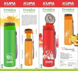 KUPA Round Fruit Infuser Water Bottle, for Drinking Water