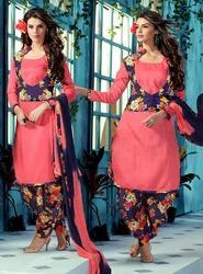 Jacket Style Suit with Patiala