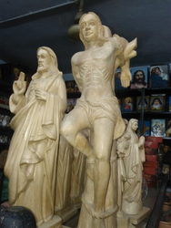 Wooden Religious Statues