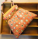 Raw Silk Designer Potli Bags