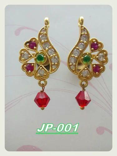Jp Jems Golden Rajputana Traditional Jewellery Rs 150 Pair Id
