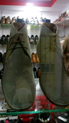 Sweat Leather Shoes
