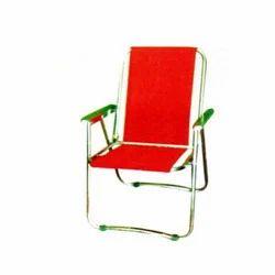 SS Velvet Folding Chair