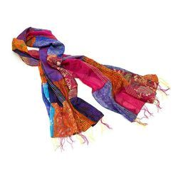 Pure Silk  Patch Stoles