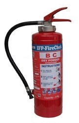 IFP Firechek Dry Chemical Powder Extinguisher 4KG Cartridge Type
