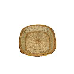 Bamboo Willow Square Basket