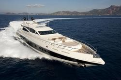 Paint Application on Luxury Speed Boats