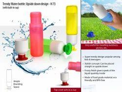Trendy Water Bottle : Upside Down Design