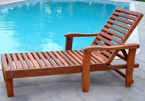 wooden pool deck chair at rs 12375 piece deck chair id 11013177988. Black Bedroom Furniture Sets. Home Design Ideas