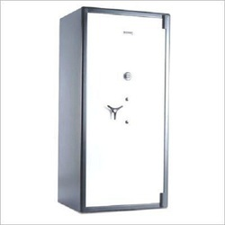 Grey And White Fire and Burglar Resistant Safes