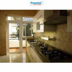 Upvc White Fenesta Kitchen Doors
