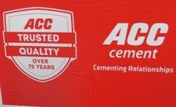 PPC (Pozzolana Portland Cement) ACC Cement, Cement Grade: Grade 43, Grade: 53, 43