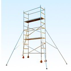 Double Width Scaffold With Stairway On Hire