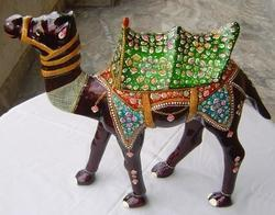Colorful Decorative Camel Statues