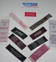 Many Colors Clothing Labels
