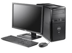 assemble Computer With LED 15 inch