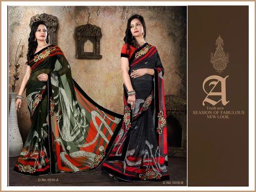 037ad0d4d Sarees - Traditional Silk(Similar South Silk) Sarees (ADMNJ208 Manufacturer  from Surat