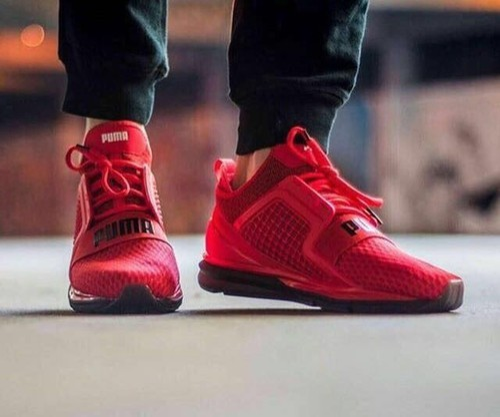 5453695ec0892b ... red men puma ignite shoes size 7 11