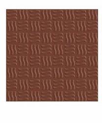 Orient Wavy Teracotta Floor Tile