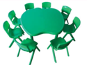 Apple Plastic Table, For Play School