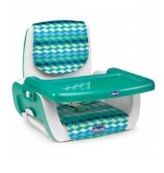 Pocket Lunch High Chair Jade and Pocket Lunch High Chair Red Wave